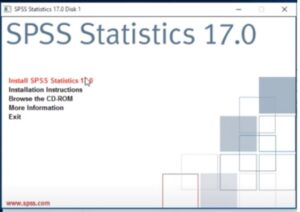 SPSS 17.0 with Crack File free download
