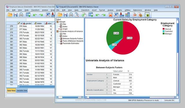 Download the latest version IBM SPSS Statistics 2019 v26
